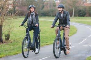Mobilité vélo électrique trajet travail quotidien