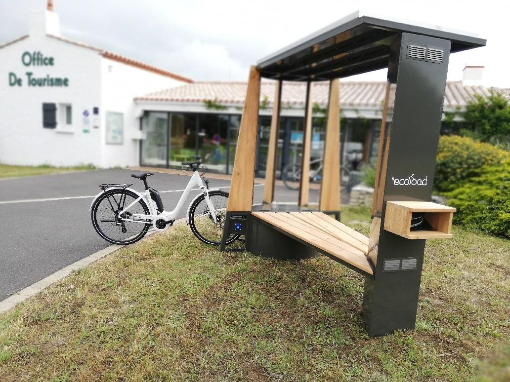 Station de recharge solaire Teepee Noirmoutier